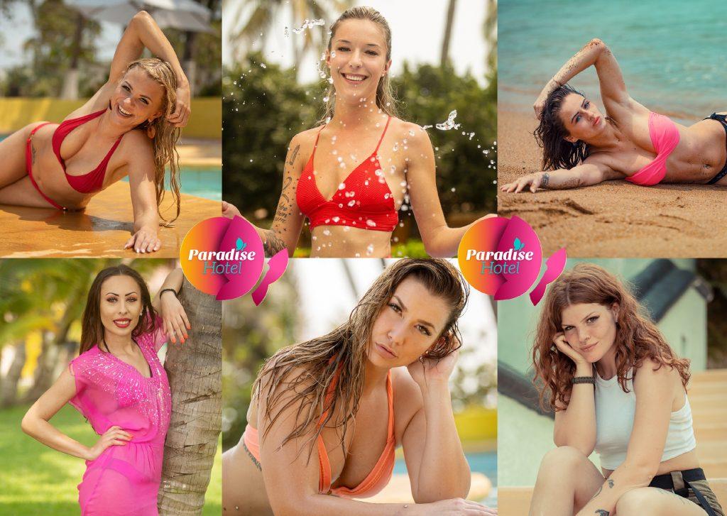v.l., oben: Jacqueline, Stephanie, Linda. v.l., unten: Nessa, Miriam, Vanessa
