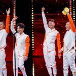 "Das Supertalent 2019 Show 11 - Die ""Diabolo Walker"""