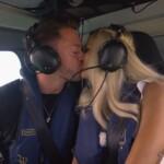 Gerda und Keno küssen sich