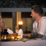 Gerda und Keno beim romantischen Dinner