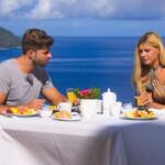 Gerda und Marco beim Frühstück