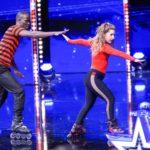 Das Supertalent 2019 Show 10 - Zaira Tari Garcia und Ibou Ibrahima