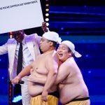 "Das Supertalent 2019 Show 9 - Go Kashu und Daisuke Fujiwara als ""Yumbo Dump"""