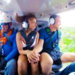 Der Bachelor 2020 Folge 2 - Sebastian und Linda beim Helikopterflug