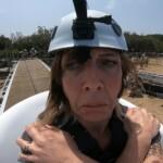 Dschungelcamp 2020 Dschungelprüfung Tag 1 - Danni Büchner in der Wanne