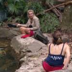 Dschungelcamp 2020 Tag 1 - Claudia und Danni reden über Michael Wendler