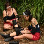 Dschungelcamp 2020 Dschungelprüfung Tag 2 - Danni Büchner und Elena Miras