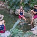 Dschungelcamp 2020 Tag 2 - Sonja Kirchberger, Claudia Norberg und Raul Richter