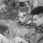 Dschungelcamp 2020 Tag 3 - Toni und Prince Damien bei der Nachtwache