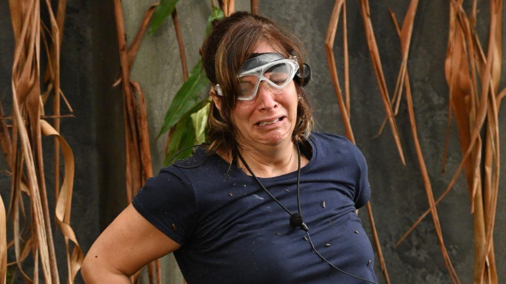 """Danni Büchner weint und schluchzt bitterlich: """"Ich kann das nicht. Ich bin ein Star, holt mich hier raus!"""""""