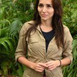 Dschungelcamp 2020 Tag 5 - Anastasiya Avilova bei der Schatzsuche
