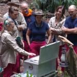 Dschungelcamp 2020 Tag 5 - Anastasiya und Raul sind von der Schatzsuche zurück