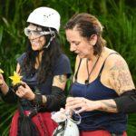 Dschungelcamp 2020 Prüfung Tag 6 - Elena und Danni holen zwei Sterne