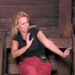 Dschungelcamp 2020 Tag 6 - Claudia Norberg im Dschungeltelefon