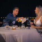 Der Bachelor 2020 Folge 4 - Leah und Sebastian genießen das Dinner