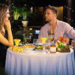 Der Bachelor 2020 Folge 8 - Sebastian und Wioleta beim Candle-Light-Dinner