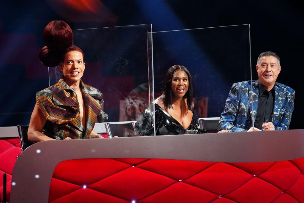 Let's Dance 2020 Show 8 - Jorge González, Motsi Mabuse und Joachim Llambi