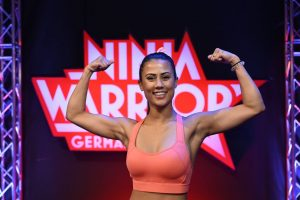 Ninja Warrior Germany 2020 - Athletin Mercy von Trentini aus Wiesbaden