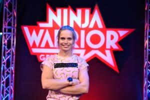 Ninja Warrior Germany 2020 - Athletin Astrid Sibon aus der Schweiz