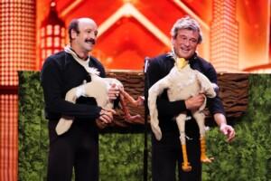 """Das Supertalent 2020 Show 2 - """"Yllana"""" - Puppenspieler aus Spanien"""