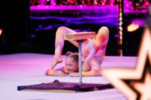 Das Supertalent 2020 Show 1 - Yarima Gerstenhöfer - Akrobatin aus Hamburg
