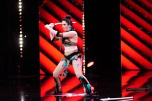 Das Supertalent 2020 Show 1 - Emanuela Spina - Martial Art-Artistin aus Italien