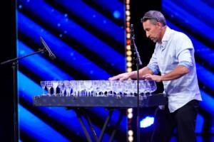 Das Supertalent 2020 - Stefano Rubino - Musiker auf der Glasharfe aus Italien