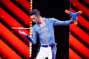 Das Supertalent 2020 - Danny Luftman - Boomerang-Artist aus Portugal