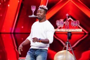 Das Supertalent 2020 Show 2 - Hayford Okine - Artist aus Kroatien
