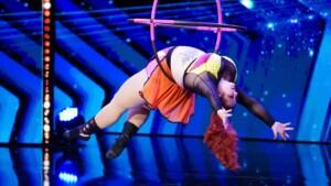 Das Supertalent 2020 - Ginger Snaps - Luftakrobatin und Burlesque-Tänzerin aus Amerika