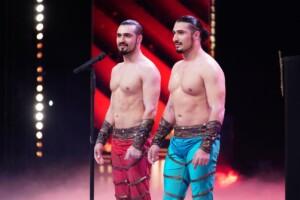 Das Supertalent 2020 - Andranik und Gevorg Vardanyan - Handstand-Akrobaten aus Russland