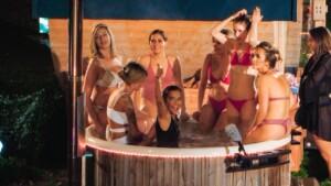Der Bachelor 2021 Folge 4 - Die Ladys warten im Jacuzzi auf den Bachelor