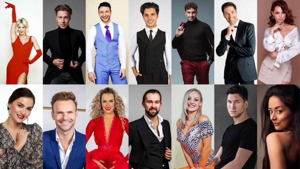 """Das sind die ProfitänzerInnen der 14. Staffel von """"Let's Dance"""" bei RTL."""