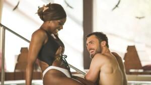 Der Bachelor 2021 Folge 5 - Niko und Linda genießen den Spa-Aufenthalt