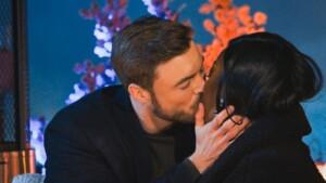 Der Bachelor 2021 Folge 7 - Niko und Linda küssen sich