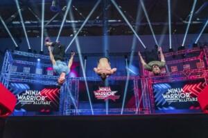 Ninja Warrior Allstars 2021 Show 1 - Simon Brunner, Pascal Probst und Marius Bender