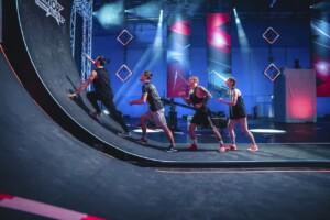 Ninja Warrior Allstars 2021 Show 1 - Johannes Veh, Daniel Decker, Dennis Decker und Michelle Reichrath