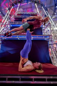 Ninja Warrior Allstars 2021 Show 1 - Katha Blank und Andrea Meßner