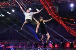 Ninja Warrior Germany Allstars 2021 - Leon Wissmann und Julius Malassa