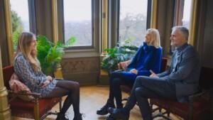 Der Bachelor 2021 Folge 8 - Mimi im Gespräch mit Nikos Eltern Elisabeth und Wolfgang
