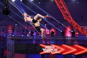 Ninja Warrior Germany Allstars 2021 - Nadine Wilhelm und Isabell Sabellek