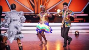 Let's Dance 2021 Show 2 - Auma Obama und Andrzej Cibis tanzen mit Jorge González Salsa