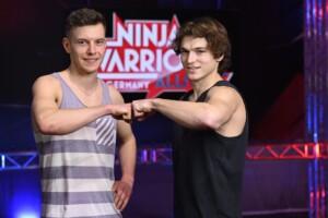 Ninja Warrior Germany Allstars - Die Athleten Marco Layer und Enrico Meister