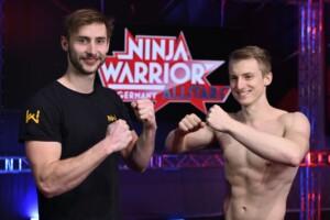 Ninja Warrior Germany Allstars - Die Athleten Niklas Wiesenzarter und Johannes Schwitzgebel