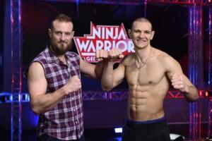 Ninja Warrior Germany Allstars - Die Athleten Simon Friesenecker und Daniel Gerber