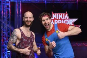 Ninja Warrior Germany Allstars - Die Athleten Marco Faußer und Christian Balkheimer