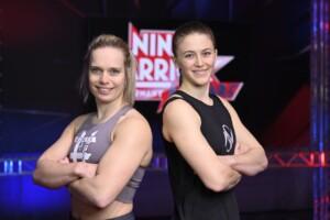 Ninja Warrior Germany Allstars Finale - Die Athletinnen Astrid Sibon und Stefanie Noppinger
