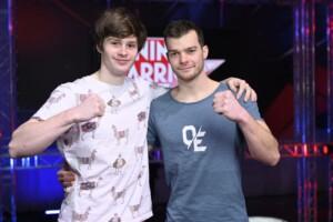 Ninja Warrior Germany Allstars Finale - Die Athleten Lasse von Freier und Oliver Edelmann