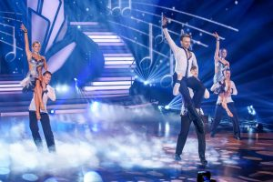 Let's Dance 2021 Show 7 - Das Team Llambi beim Jury-Teamtanz