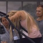 Big Brother Tag 47 - Natascha bei der Wochenaufgabe